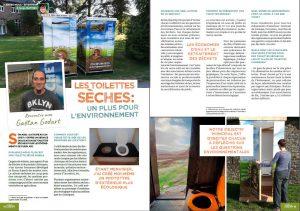 page 1 et 2 de l'interview esprit jardin